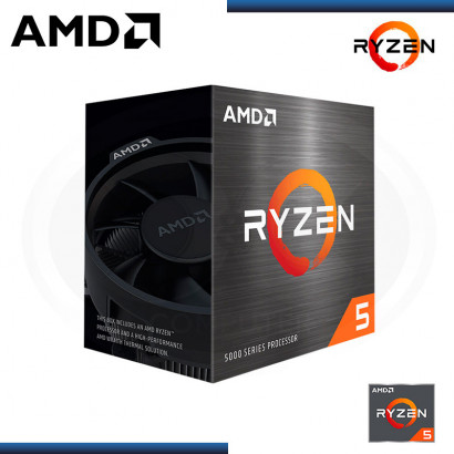 PROCESADOR AMD RYZEN 5 5600X | 3.7GHZ (4.6GHZ) 35MB| 6 NUCLEO | AM4 (N/P 100-100000065BOX )