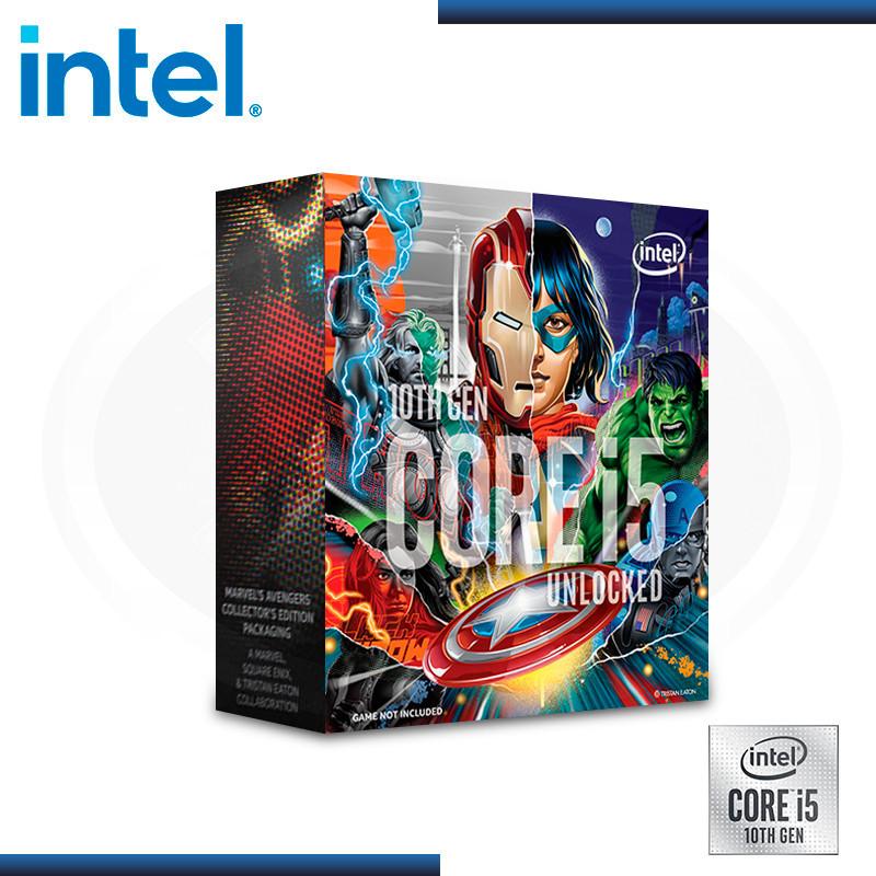 PROCESADOR INTEL CORE I5 10600K 4.1 GHZ 12MB, LGA1200 | EDICION AVENGER BOX (PN: BX8070110600KA )