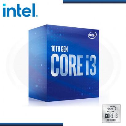 PROCESADOR INTEL CORE I3 10100F | 3.6GHZ 6MB | LGA1200 (PN: BX8070110100F )