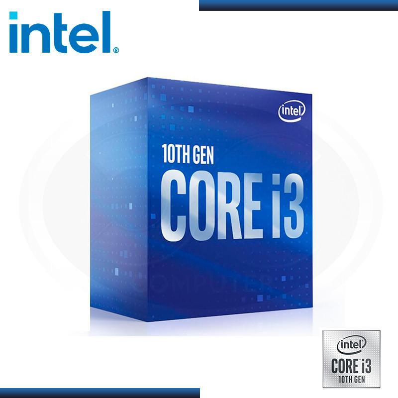PROCESADOR INTEL CORE I3 10100F   3.6GHZ 6MB   LGA1200 (PN: BX8070110100F )