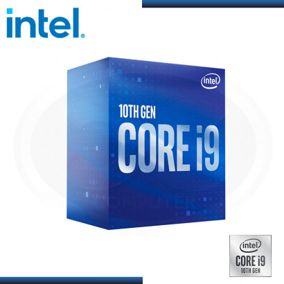 PROCESADOR INTEL CORE I9 10900F 2.8GHZ | 20MB | LGA 1200 | BOX (PN: BX8070110900F )