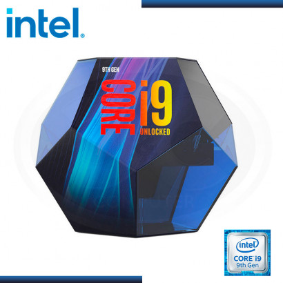 PROCESADOR INTEL CORE I9-9900K, 3.6 GHz, 16MB CACHE L3, S.1151 (PN:BX80684I9900K)