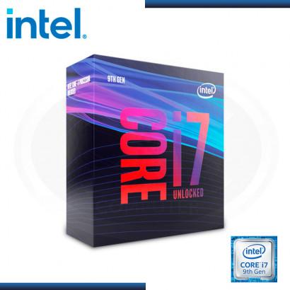 PROCESADOR INTEL CORE I7-9700K, 3.60 GHZ, 12MB CACHE L3, LGA1151,