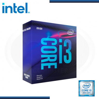 PROCESADOR INTEL CORE i3 - 9100F 3.60-4.20 GHZ 6MB LGA1151