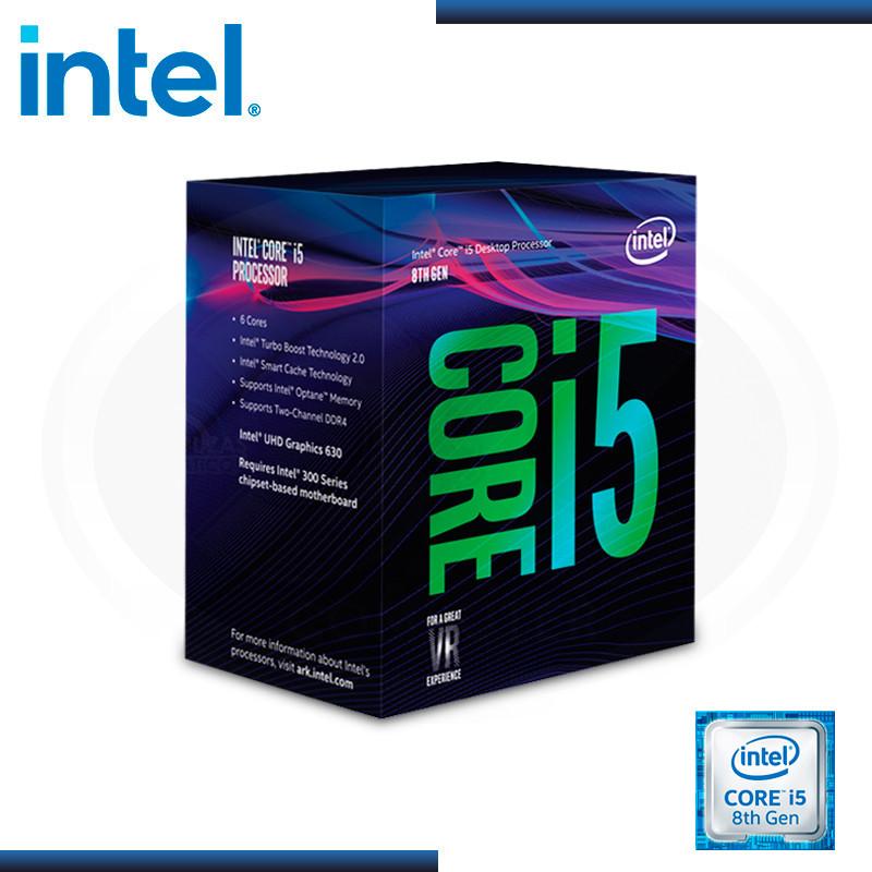 PROCESADOR INTEL CORE I5-8600K 3.60 GHZ, 9MB CACHE, LGA1151