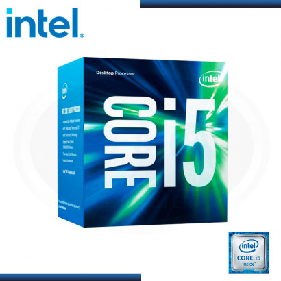 PROCESADOR INTEL CORE I5 6400 2.7 GHZ, 6MB, LGA 1151, 14NM, HD530