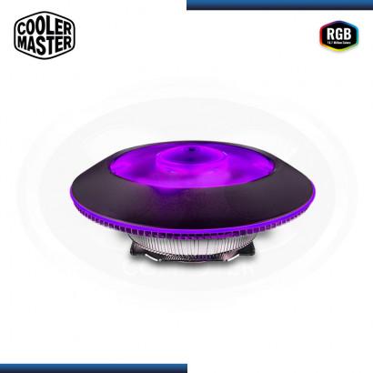 COOLER PROCESADOR COOLMASTER MASTERAIR G100M RGB  (PN: MAM-G1CN-924PC-R1 )