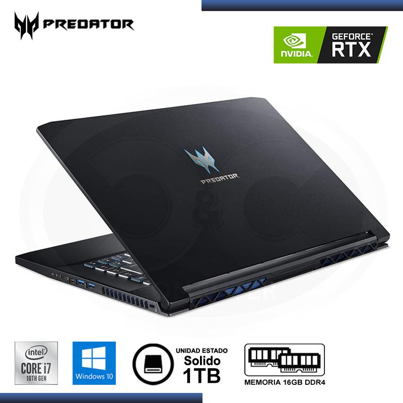 MEMORIA 16GB DDR4 HYPERX PREDATOR BLACK RGB BUS 3000MHZ (PN:HX430C15PB3A/16)