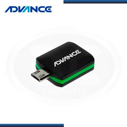 RECEPTOR DE TV DIGITAL ADVANCE DG505, TV ISDB-T, PARA DISPOSITIVOS ANDROID, USB OTG