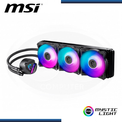 SISTEMA DE ENFRIAMIENTO LIQUIDO MSI MAG CORELIQUID 360R RGB INTEL | AMD (PN: 306-7ZW1C36-813)