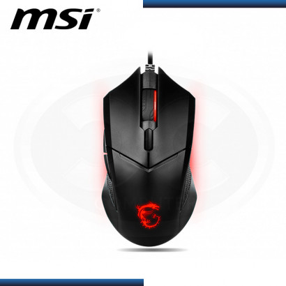 MOUSE GAMING MSI CLUTCH GM08 | 4200 DPI | BLACK USB (PN:S120401800CLA)
