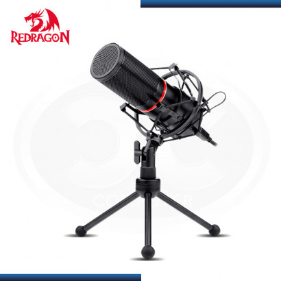 MICROFONO GAMING STREAM REDRAGON BLAZAR GM300, METAL   ILUMINACION LED
