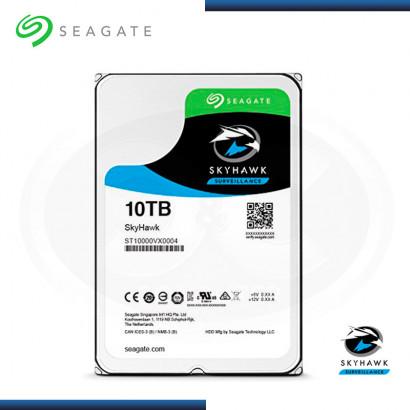 DISCO DURO SEAGATE SKYHAWK  10TB 5900 RPM SATA3  256MB (N/P: ST10000VX0004 )