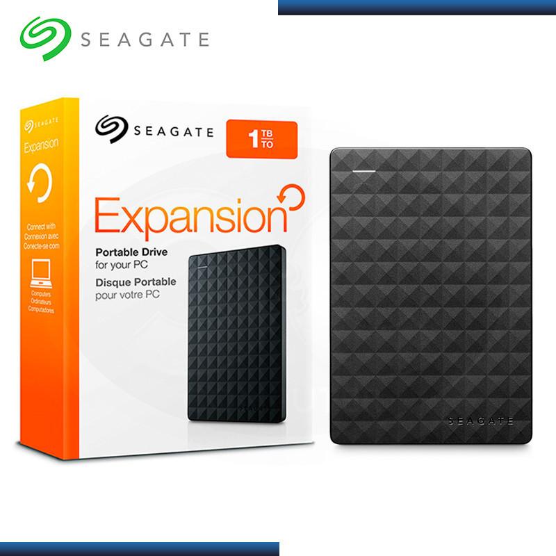 "DISCO DURO EXTERNO SEAGATE EXPANSION PORTABLE 1TB / 2.5"" / USB 3.0 (PN: STEA1000400 )"