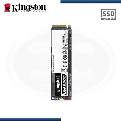 UNIDAD DE ESTADO SOLIDO KINGSTON KC2500 | 250GB | M.2 2280 | NVME PCIE GEN 3.0 x4 (N/P SKC2500M8/250G )