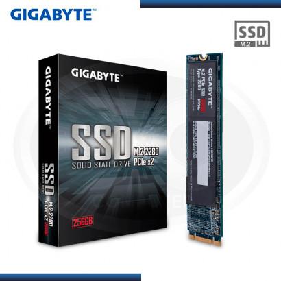 UNIDAD ESTADO SOLIDO GIGABYTE 256GB M.2 2280 | NVME PCIE x4 (N/P: GP-GSM2NE3256GNTD )