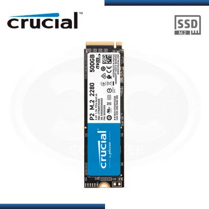 UNIDAD DE ESTADO SOLIDO CRUCIAL P2 500GB | M.2 2280 | NVME PCIE x4 (PN: CT500P2SSD8 )