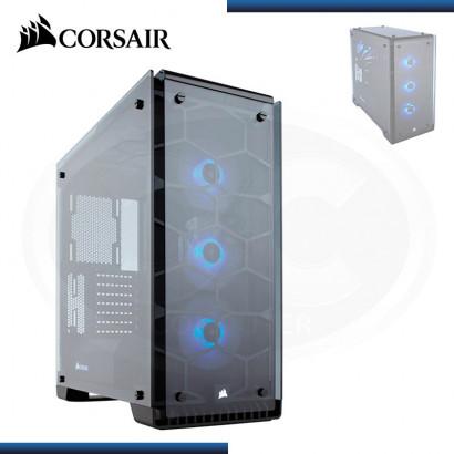 CASE CORSAIR CRYSTAL SERIES 570X RGB ATX, MID TOWER, NEGRO, USB 3.0, AUDIO. (PN: CC-9011098-WW )