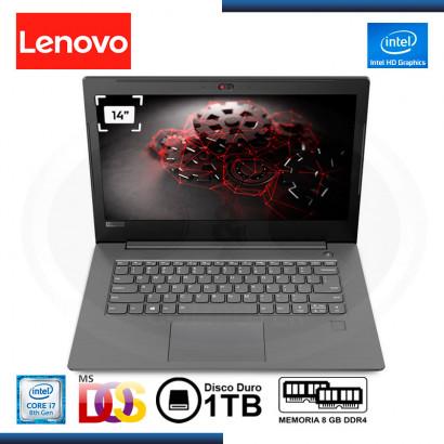 "LAPTOP LENOVO V330-14IKB CI7 8550U | 1.8GHz | 8GB | 1TB| 14"" HD| FREEDOS (PN: 81B001CMLM )"