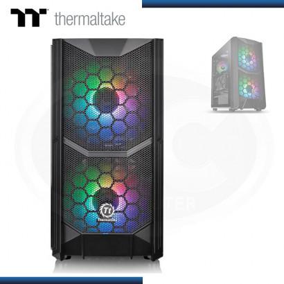 CASE THERMALTAKE COMMANDER C35 TG ARGB S/FUENTE USB 3.0 BLACK (PN:CA-1N6-00M1WN-00)