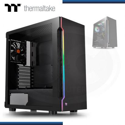 CASE THERMALTAKE H200 TG RGB | BLACK S/ FUENTE | VIDRIO TEMPLADO | MID TOWER (N/P CA-1M3-00M1WN-04 )