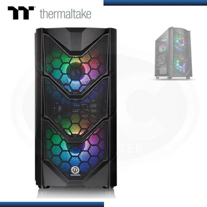 CASE THERMALTAKE COMMANDER C36 TG ARGB S/FUENTE USB 3.0 BLACK  (PN: CA-1N7-00M1WN-00 )
