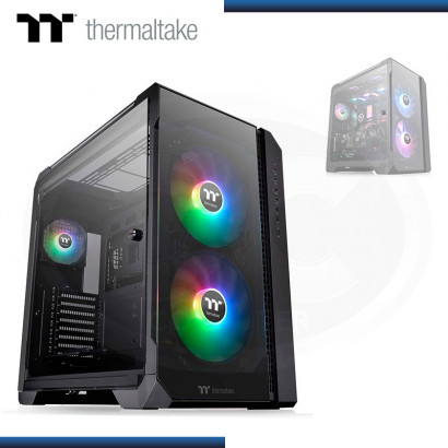 CASE THERMALTAKE VIEW 51 TG BLACK | ARGB | S/ FUENTE | VIDRIO TEMPLADO x3 | FULL TOWER (PN: CA-1Q6-00M1WN-00 )