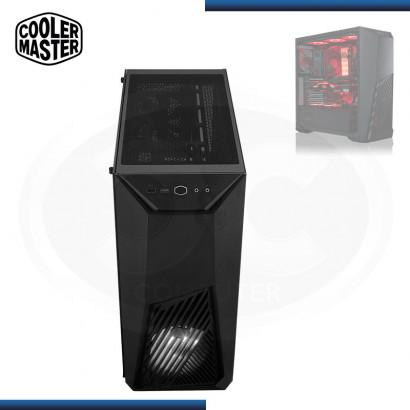 CASE COOLER MASTER K501L RGB | S/ FUENTE | VIDRIO TEMPLADO | MID TOWER (PN: MCB-K501L-KGNN-SR1 )