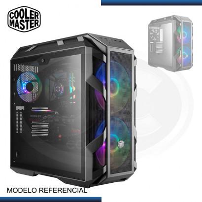 CASE COOLER MASTER MASTERCASE H500M ARGB | VIDRIO TEMPLADO | BLACK (PN: MCM-H500M-IHNN-S00 )