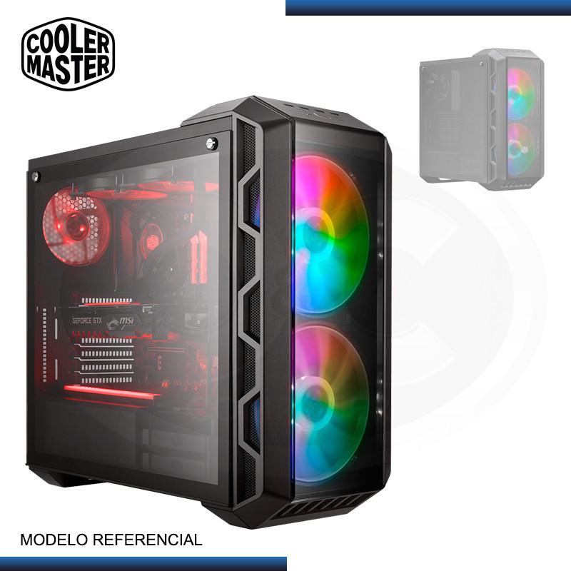CASE DEEPCOOL E-SHIELD VIDRIO TEMPLADO SIN FUENTE BLACK USB 3.0/USB 2.0 (PN:DP-ATX-ESHIELD)