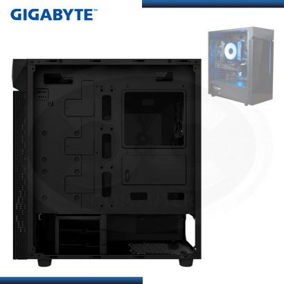 CASE GIGABYTE C200G S/FUENTE | VIDRIO TEMPLADO | USB 30 x2 |  (N/P GB-C200G )