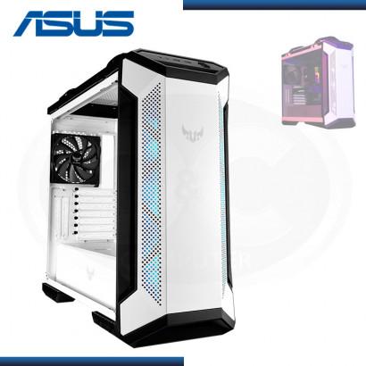 CASE ASUS TUF GAMING GT501 RGB | WHITE | S/FUENTE | VIDRIO TEMPLADO | USB 3.1| MID TOWER