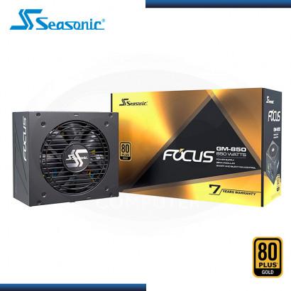 FUENTE PODER SEASONIC FOCUS SSR-850FX  850W / MODULAR / 80+ PLUS GOLD ATX