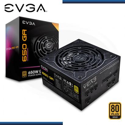 FUENTE EVGA SUPERNOVA 650 GA | 80 PLUS GOLD | FULL MODULAR  (PN: 220-GA-0650-X1)