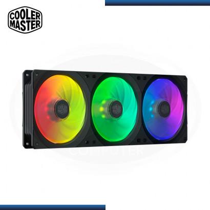 COOLER DE CASE COOLER MASTERFAN SF360R ARGB  (PN: MFX-B2D3-18NPA-R1 )