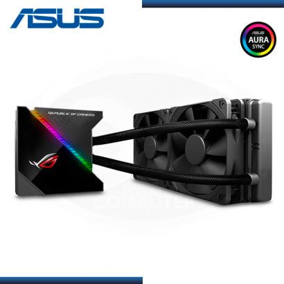 COOLER LIQUIDO P/ CPU ASUS ROG RYUJIN 240 OLED NOCTUA 2 FAN 12CM / INTEL / AMD BLACK (N/P :90RC0030-M0AAY0 )