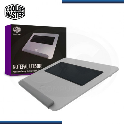 COOLER P/ NOTEBOOK COOLER MASTER NOTEPAL U150R (PN: R9-U150R-16FK-R1 )