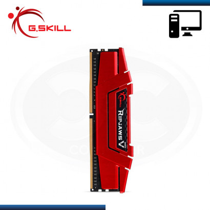 MEMORIA 8GB DDR4 G.SKILL RIP JAWS V RED BUS 2800MHz (PN:F4-2800C17S-8GVR)