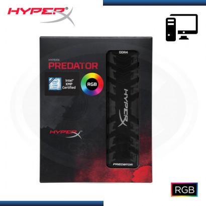MEMORIA KINGSTON HYPERX PREDATOR RGB DDR4 16GB BUS 3000 MHZ (N/P HX430C15PB3A/16 )