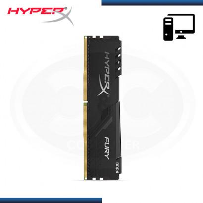 MEMORIA KINGSTON HYPER X FURY BLACK DDR4 4GB 2666MHZ C/ DISIPADOR (N/P:HX426C16FB3/4 )