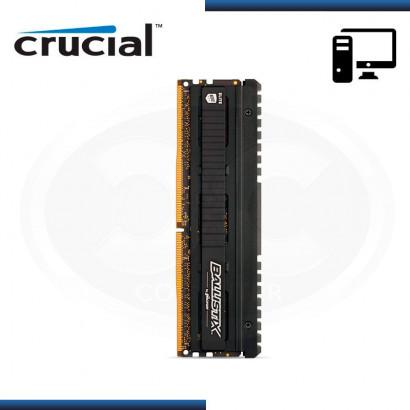 MEMORIA CRUCIAL BALLISTIX ELITE DDR4 8GB BUS 3600 MHZ 1.35V, MOD:BLE8G4D36BEEAK