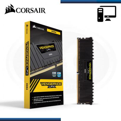 MEMORIA CORSAIR  VENGEANCE LPX 8GB (1X8GB) DDR4, 2666MHz BLACK (N/P CMK8GX4M1A2666C16 )