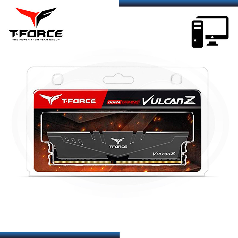 MEMORIA TEAMGROUP T-FORCE VULCAN Z 8GB 3200MHZ GRAY (N/P TLZGD48G3200HC16C01 )