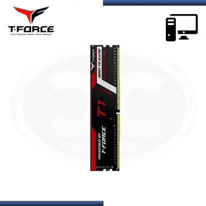 MEMORIA TEAMGROUP T- T1 BLACK DDR4 8GB 2666MHz | CL18 | 1.2 V | SIN DISIPADOR (NP : TTD48G2666C18H01 )