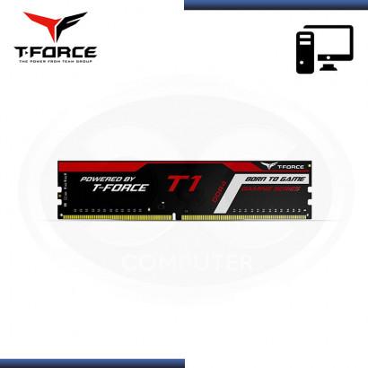 MEMORIA TEAMGROUP T- T1 BLACK DDR4 8GB 2666MHz | CL18 | 1.2 V | SIN DISIPADOR (NP : TTD48G2666C18H01 )