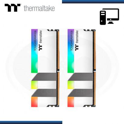 MEMORIA THERMALTAKE TOUGHRAM RGB 16GB (2x8GB ) DDR4 3600 MHZ (PN: R022D408GX2-3600C18A )