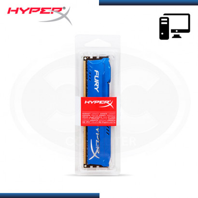MEMORIA KINGSTON DDR3 4GB BUS 1866MHZ HYPER X FURY BLUE MOD:HX318C10F/4