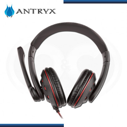 AUDIFONO C/MICROFONO ANTRY XTREME GH-350 RED ,2.1 (AGH-350R)