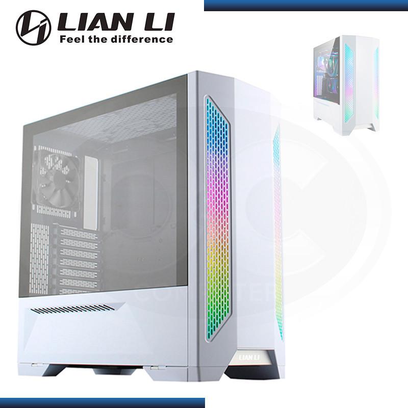 CASE LIAN LI LANCOOL II-W WHITE ARGB |  VIDRIO TEMPLADO (PN: G99.LAN2W-00 )