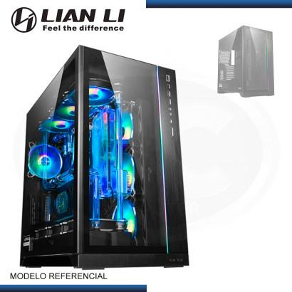 CASE LIAN LI PC-011 DYNAMIC XL ROG CERTIFIED BLACK ARGB VIDRIO TEMPLADO SIN FUENTE USB 3.1/USB 3.0 (PN:G99.011DXL-X.00)